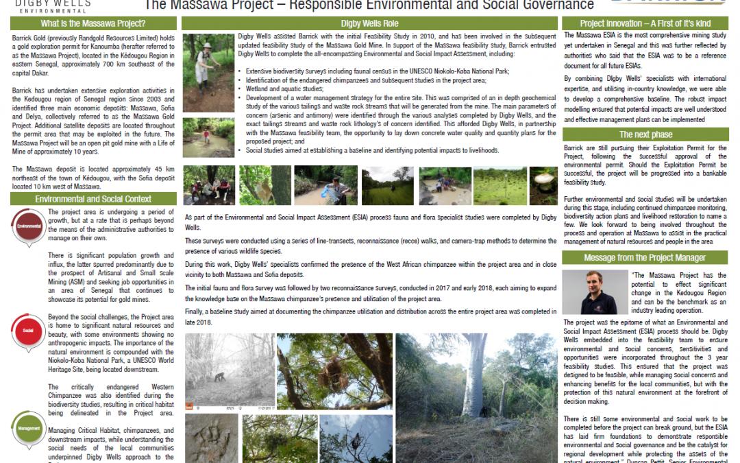 The Massawa Project Responsible Environmental and Social Governance