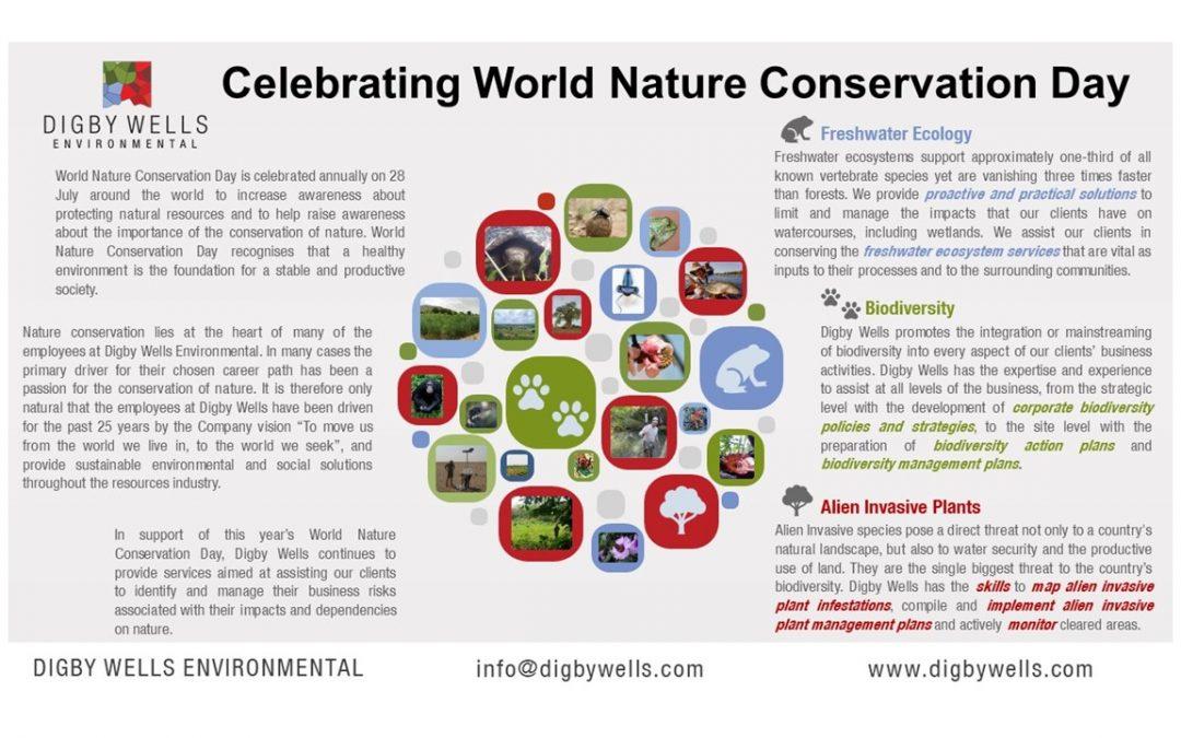 Celebrating World Nature Conservation Day