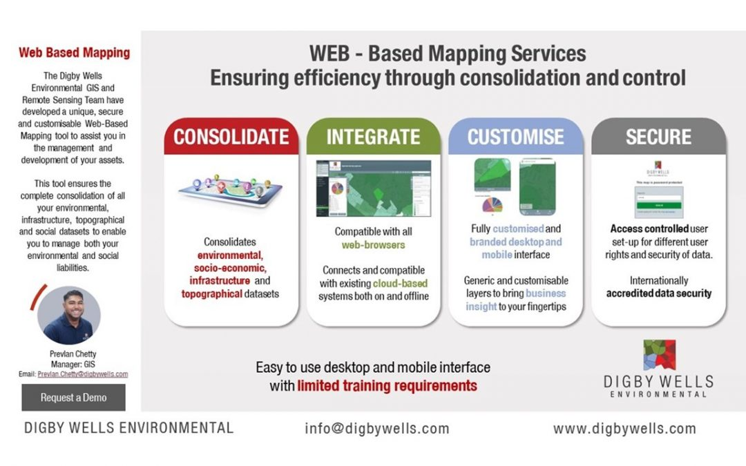 Web-Based Mapping: Ensuring efficiency through consolidation and control